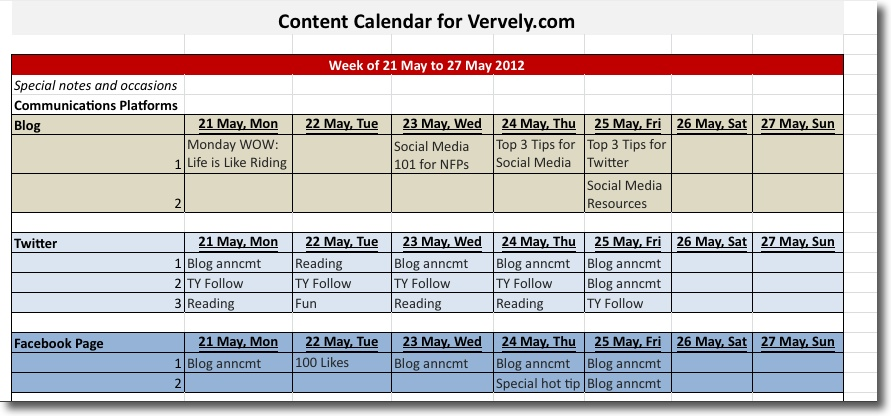 Content Calendar 101 Tips And Tools Vervely